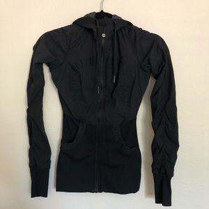 Lululemon black and gray reversible jacket